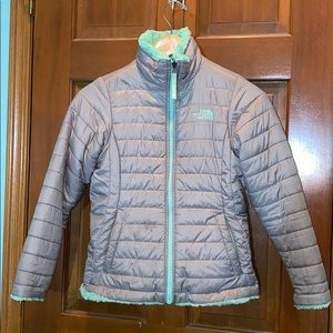 Girl's 10/12 Reversible Coat The North Face